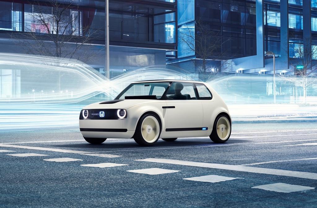 Concept elettrico Honda Urban EV