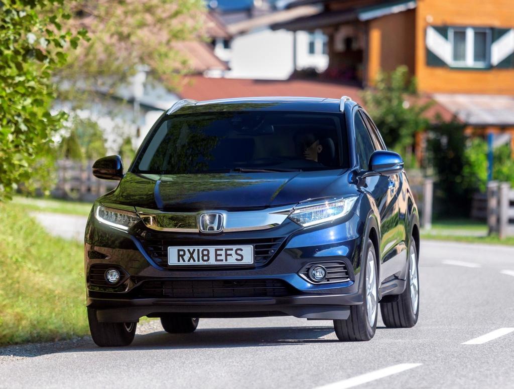 Honda HR-V restyling