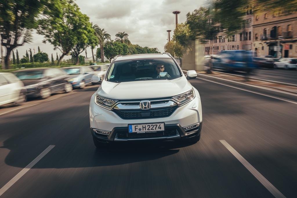Sistema ibrido di Honda CR-V