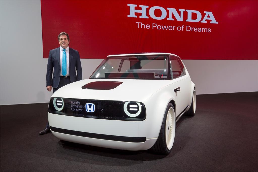 Uscita Honda elettrica Urban EV