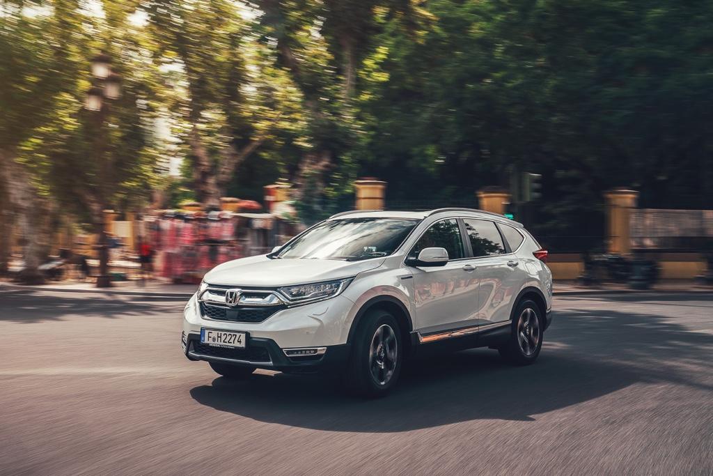 Uscita di Honda CR-V Hybrid
