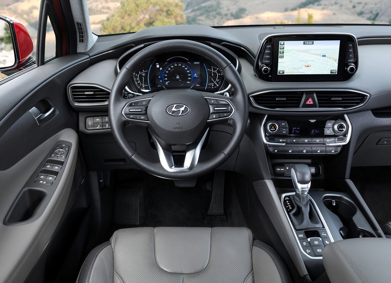 Interni di Hyundai Santa Fe