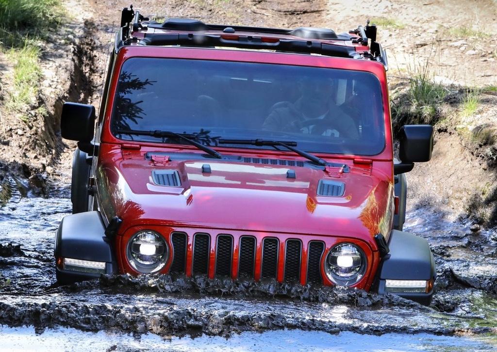 Motori di nuova Jeep Wrangler