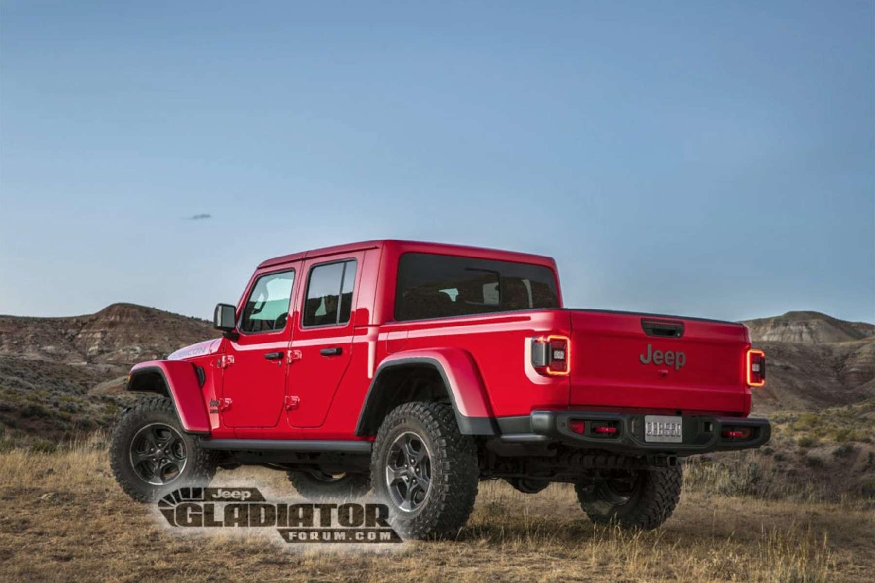 Pick up Jeep Gladiator