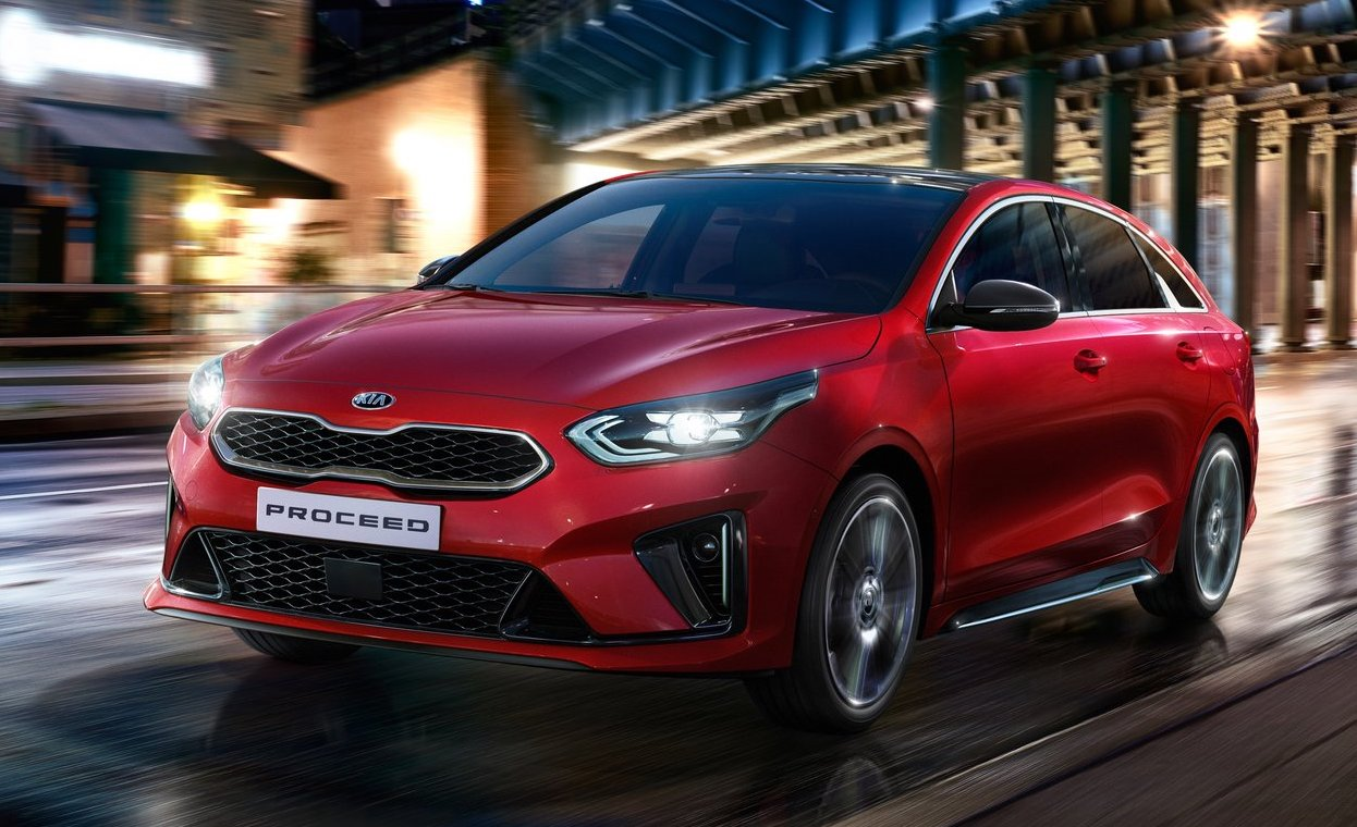 Dimensioni di KIA Proceed