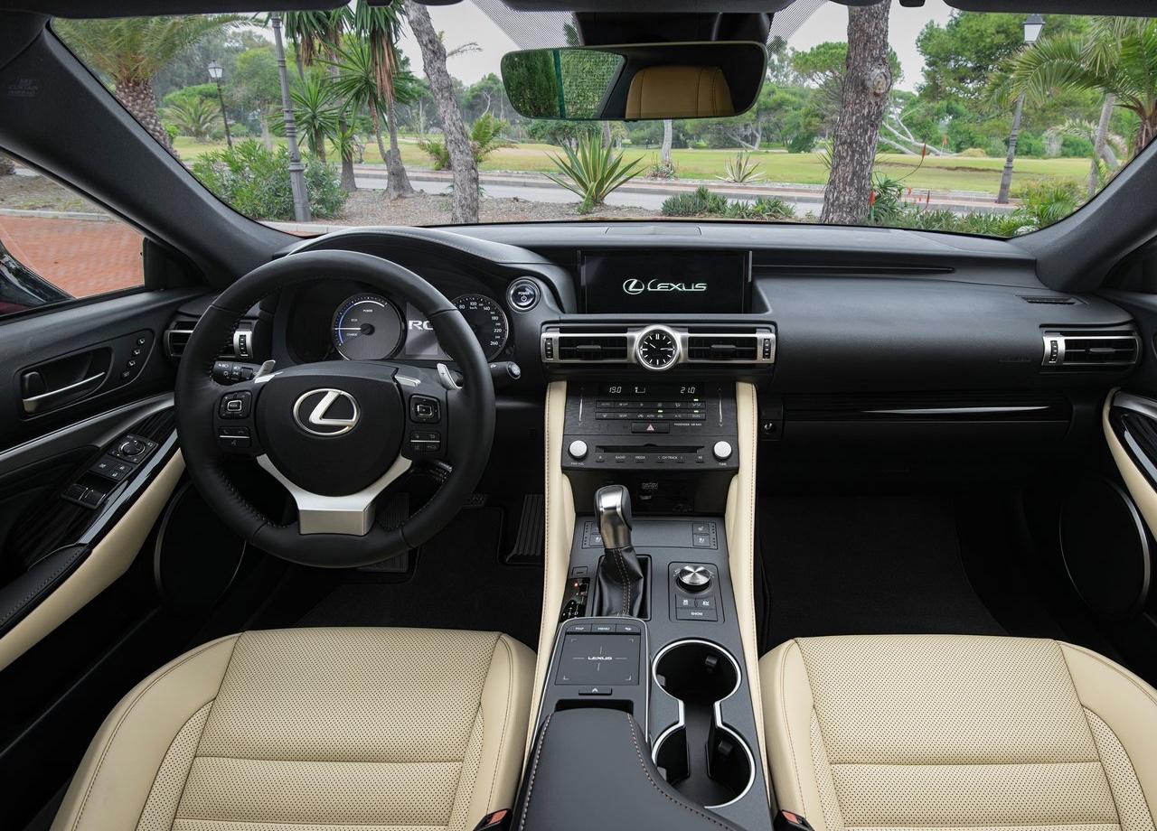 Caratteristiche di Lexus RC