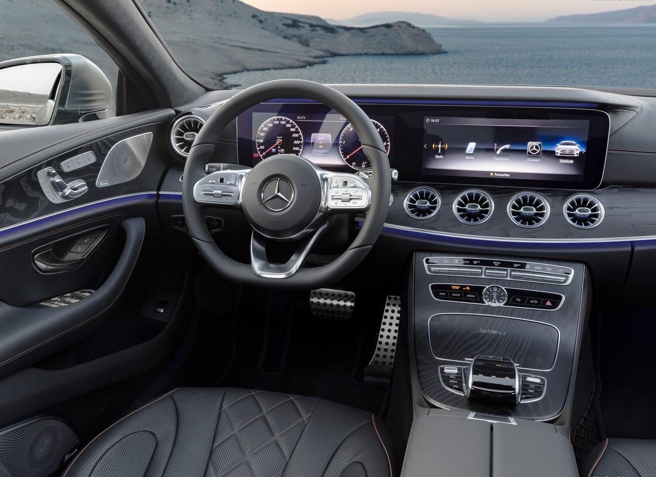 Interni di Mercedes CLS