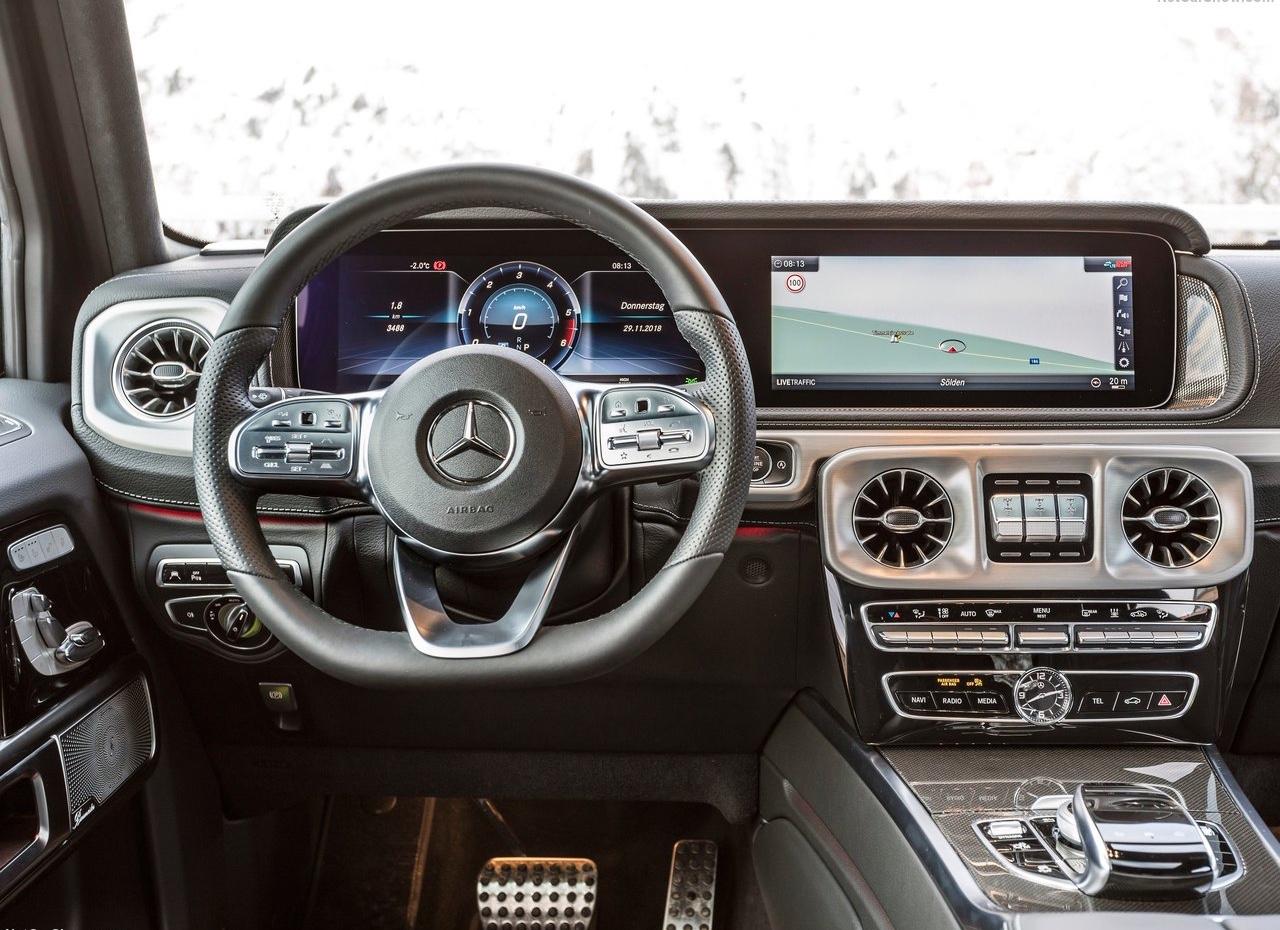 Interni di Mercedes Classe G