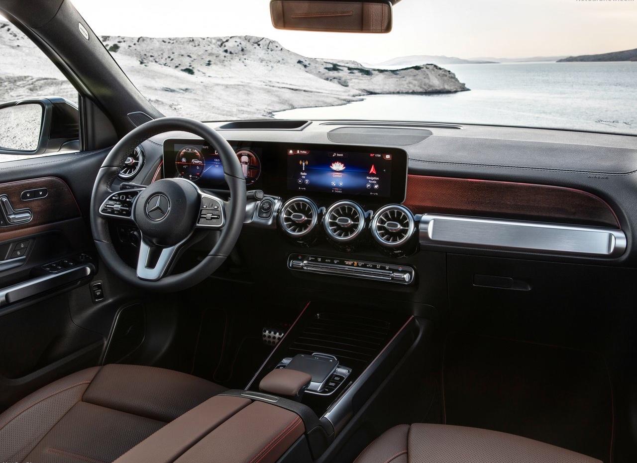 Interni di Mercedes GLB