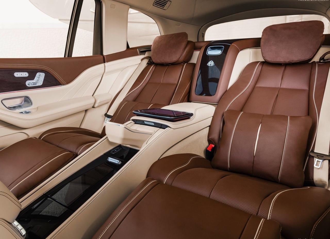 Interni di Mercedes Maybach GLS
