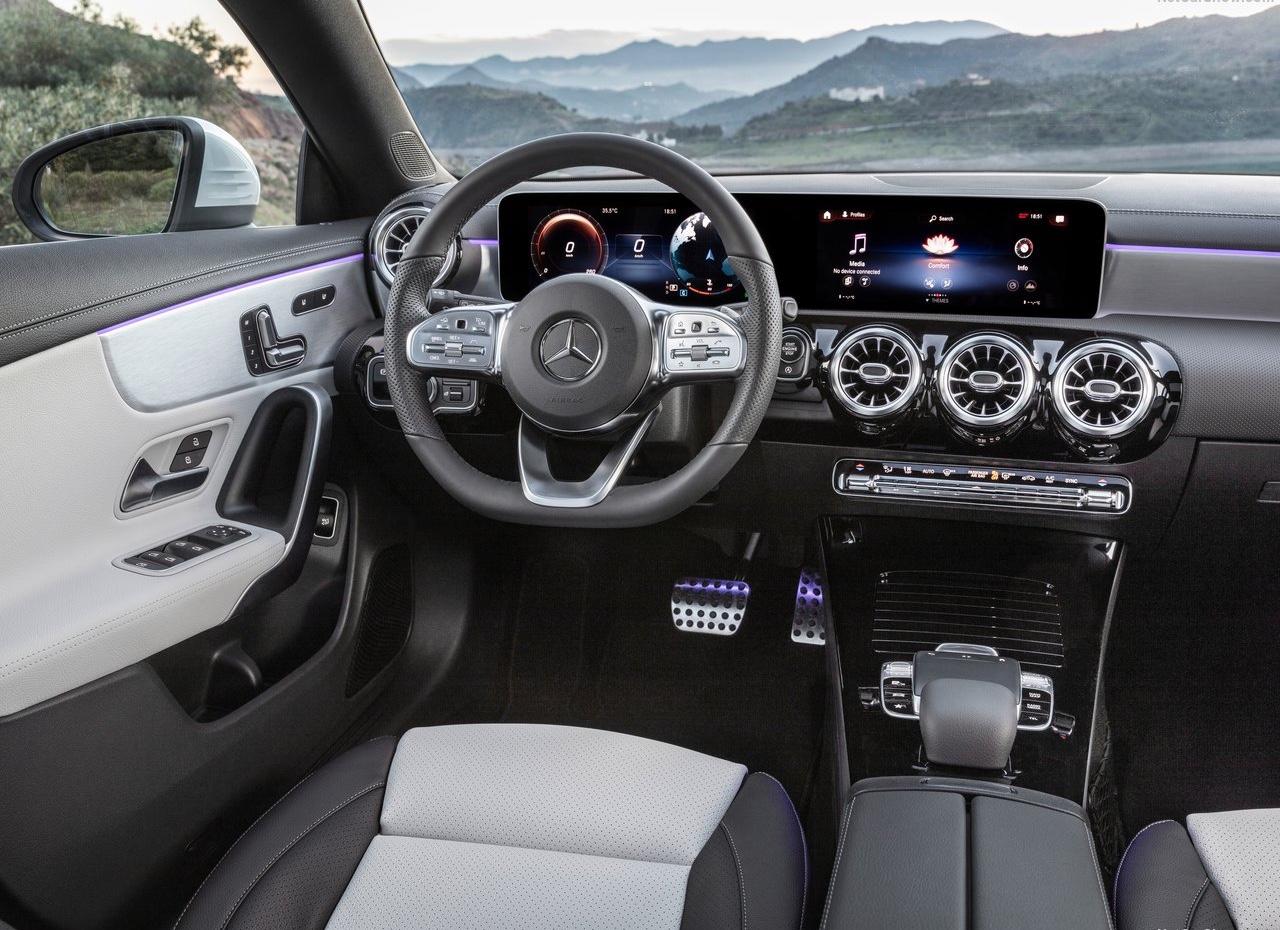 MBUX su Mercedes CLA Shooting Brake