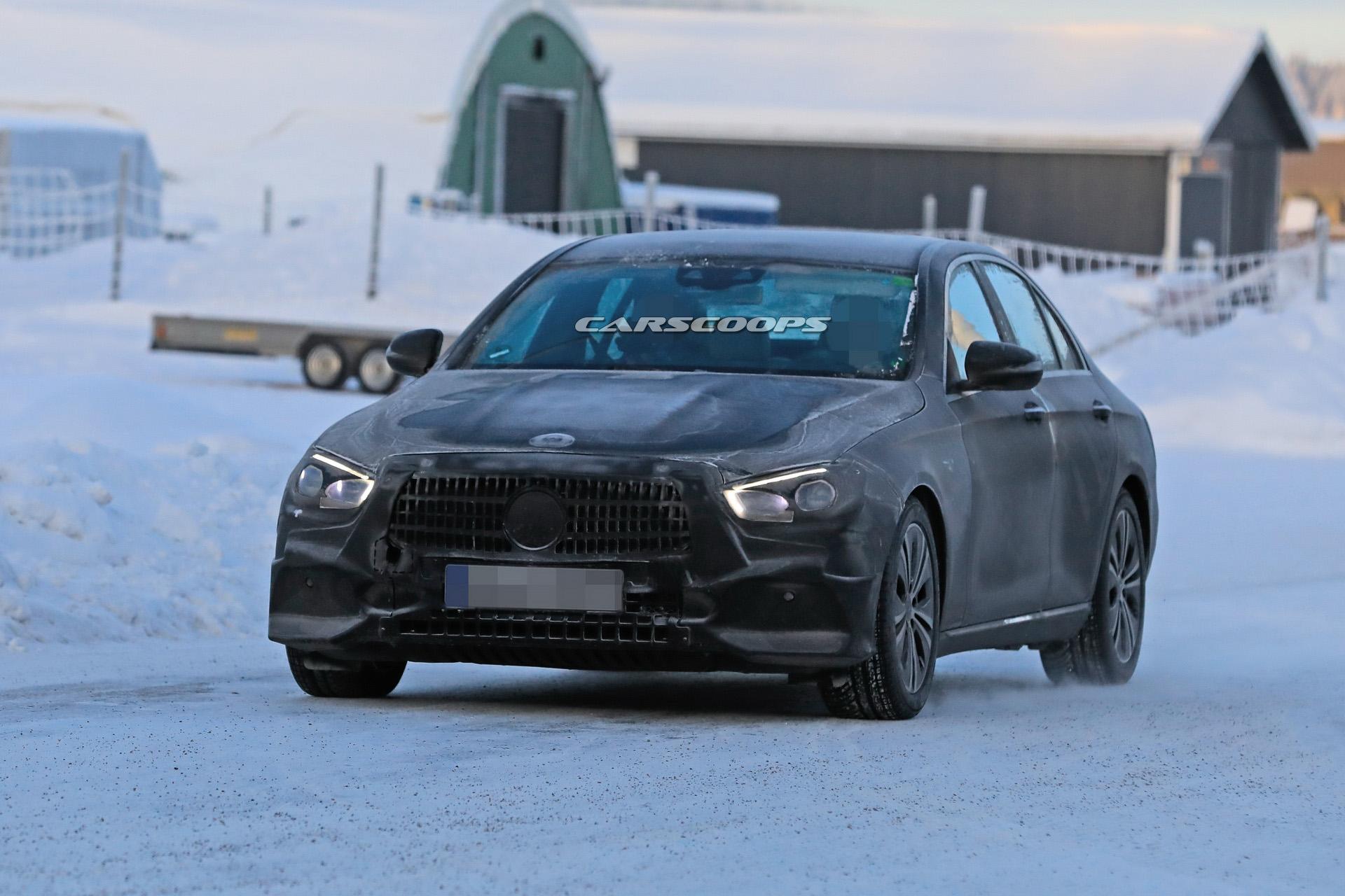 Mercedes Classe E restyling