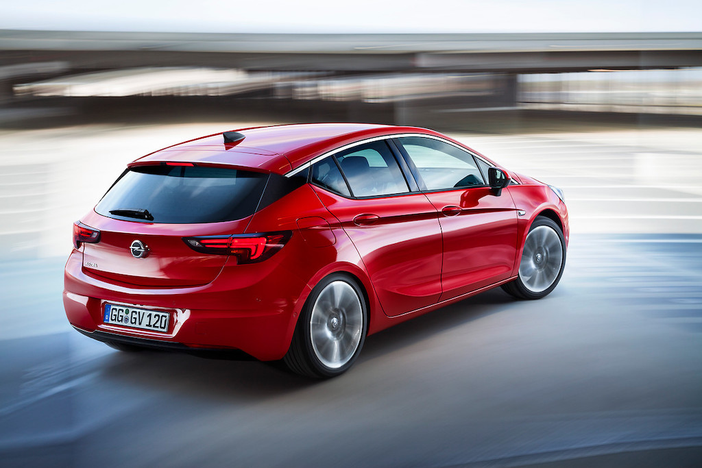 Opel Astra model year 2019