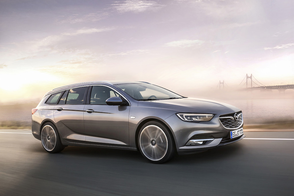 Opel Insignia 2019 facelift