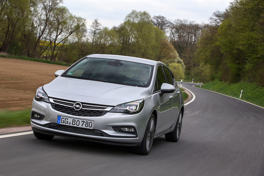 Uscita Opel Astra 2019