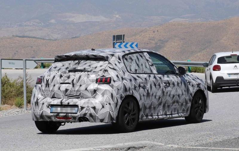 Uscita di nuova Peugeot 208 2019