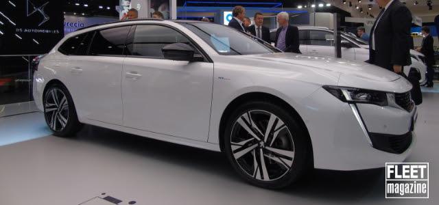 Peugeot 508 Hybrid station wagon