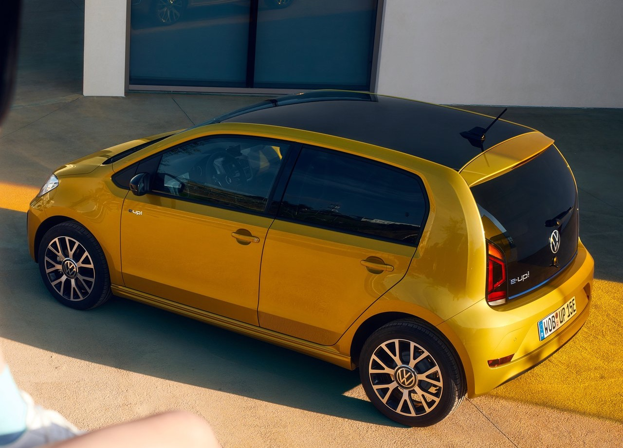 Autonomia di Volkswagen e-up elettrica