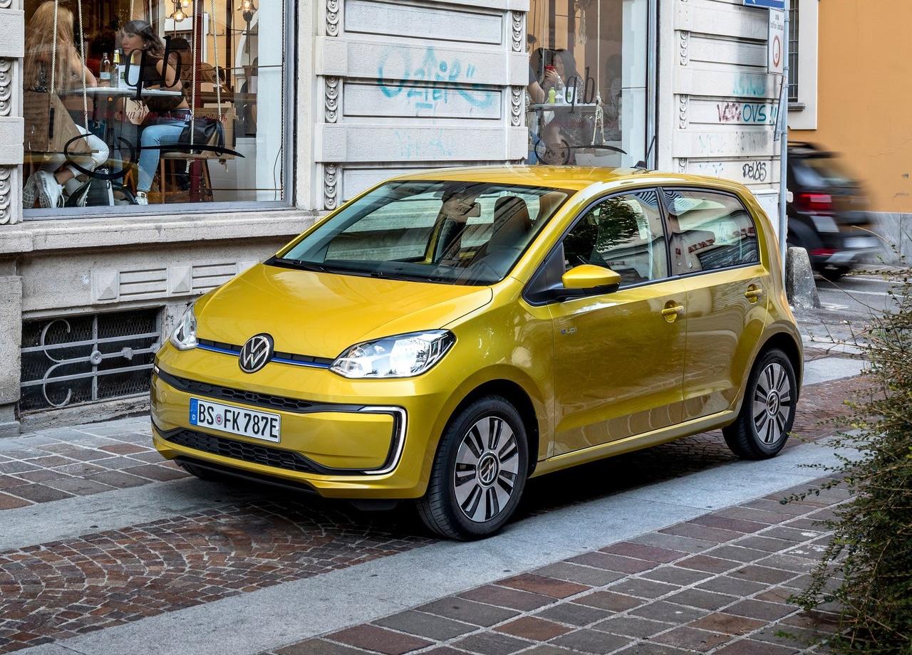 Volkswagen e-up elettrica
