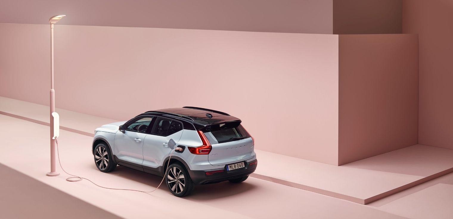 Nuova Volvo XC40 elettrica 2020