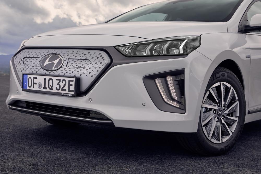 Autonomia di Hyundai Ionic elettrica 2019
