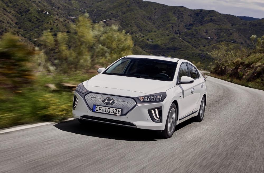 Hyundai Ionic elettrica 2019, caratteristiche