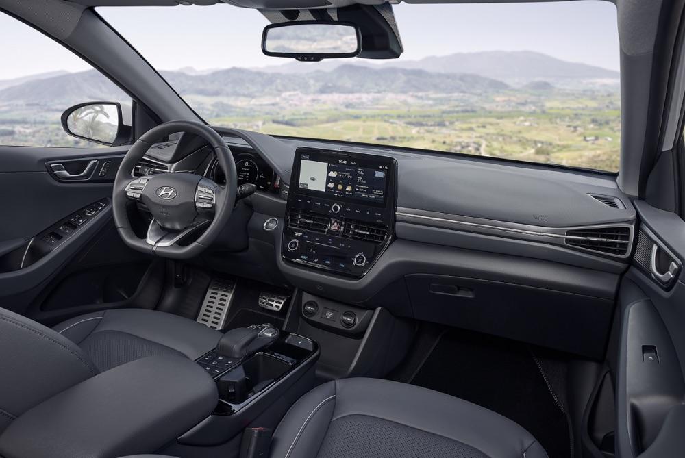 Interni di Hyundai Ionic 2019