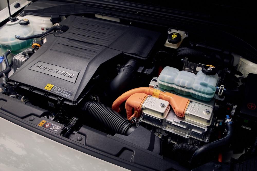 Motore di Hyundai Ioniq ibrida 2019