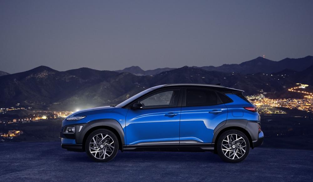 Consumi di Hyundai Kona ibrida 2019