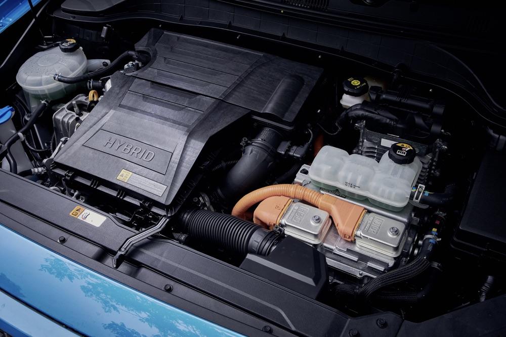 Motore di Hyundai Kona Hybrid