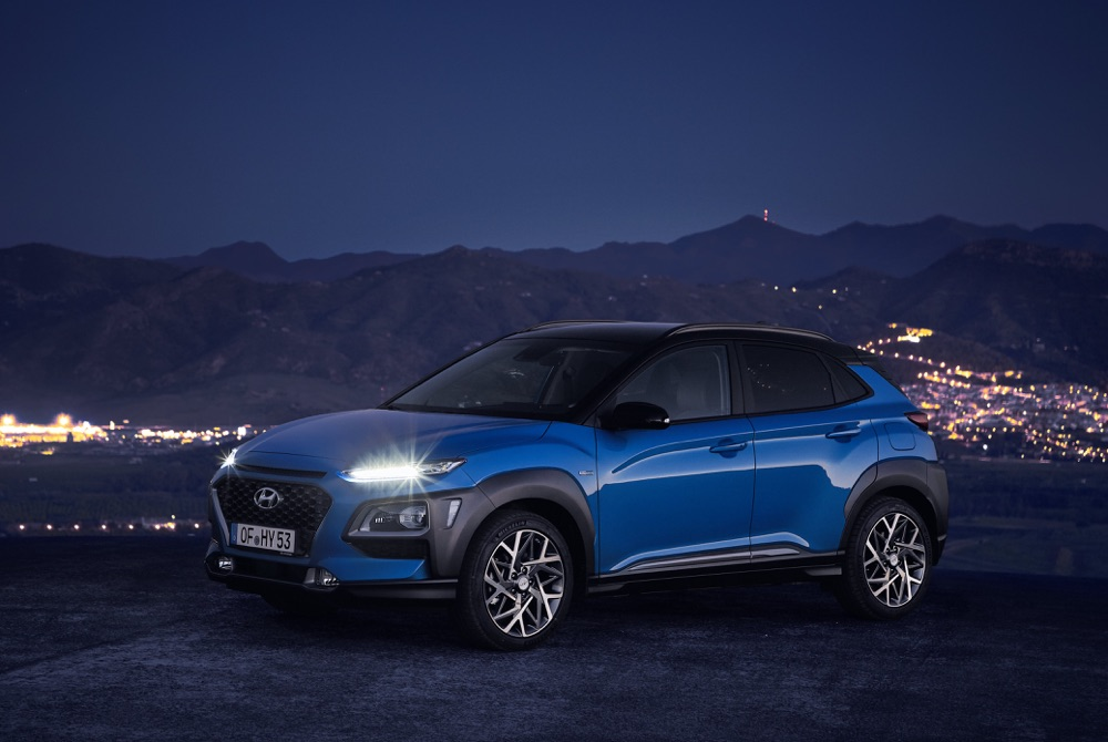 Prestazioni di Hyundai Kona ibrida 2019
