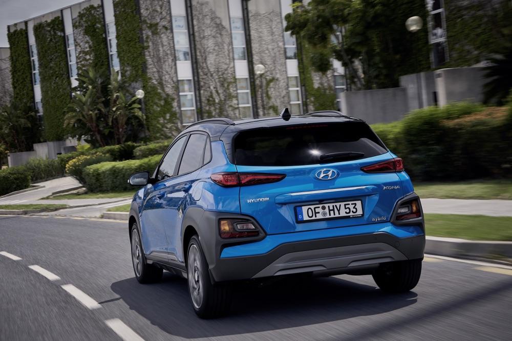 Scheda tecnica di Hyundai Kona ibrida 2019