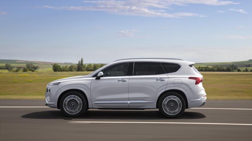 Dimensioni di nuova Hyundai Santa Fe