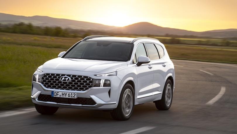 Uscita di nuova Hyundai Santa Fe