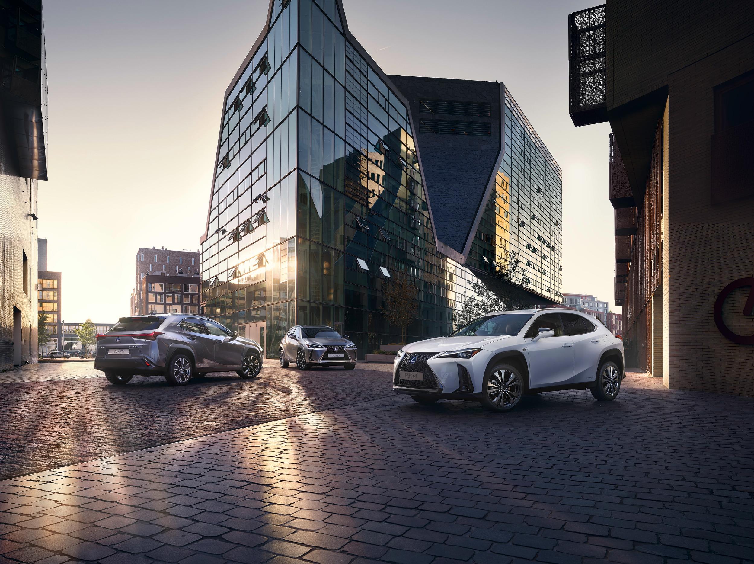 Gamma nuova Lexus UX