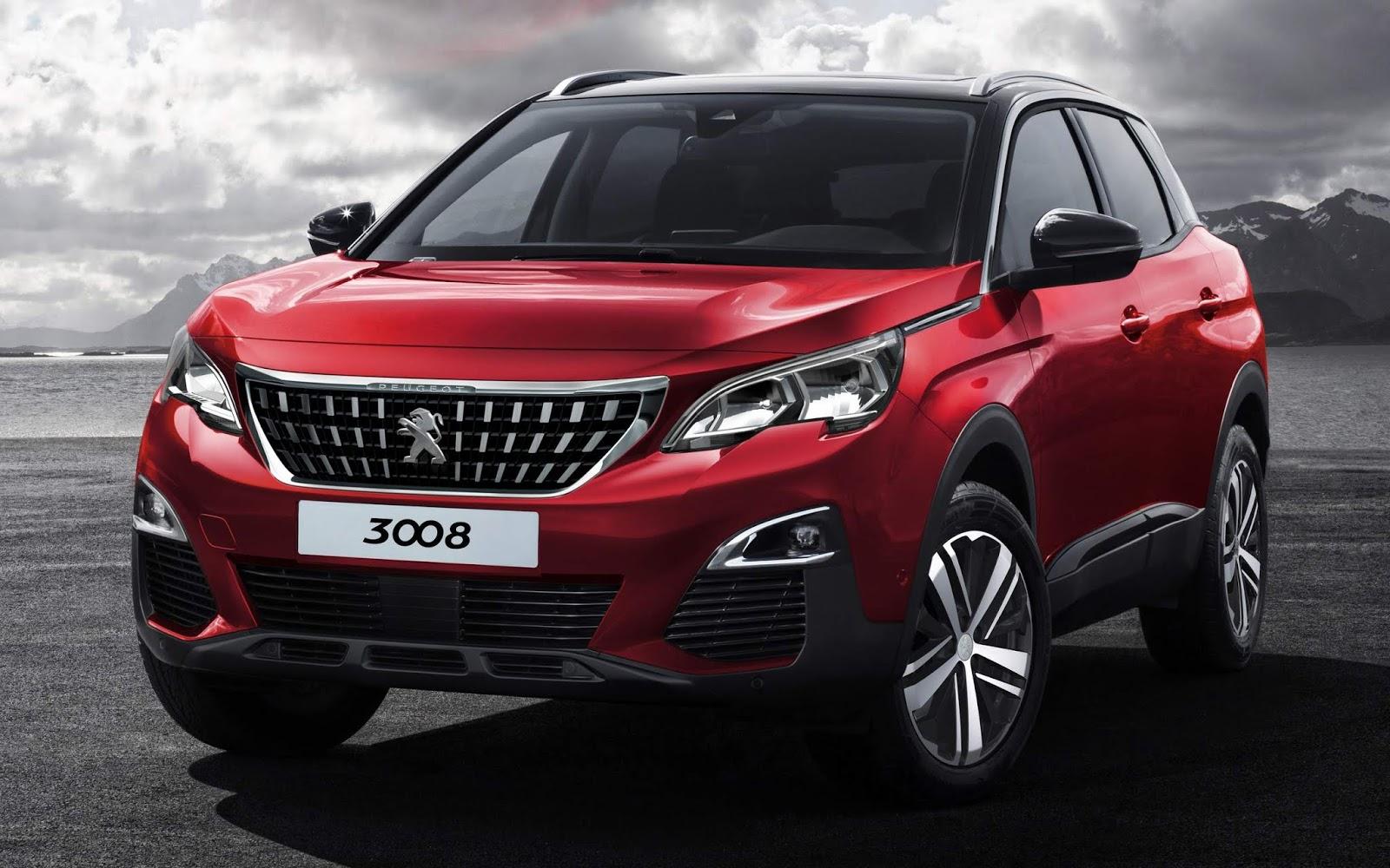 Rendering  nuova Peugeot 3008