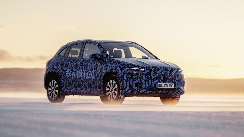 Nuova Mercedes EQA 2021