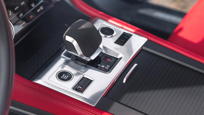 Cambio di Jaguar F-Pace 2021