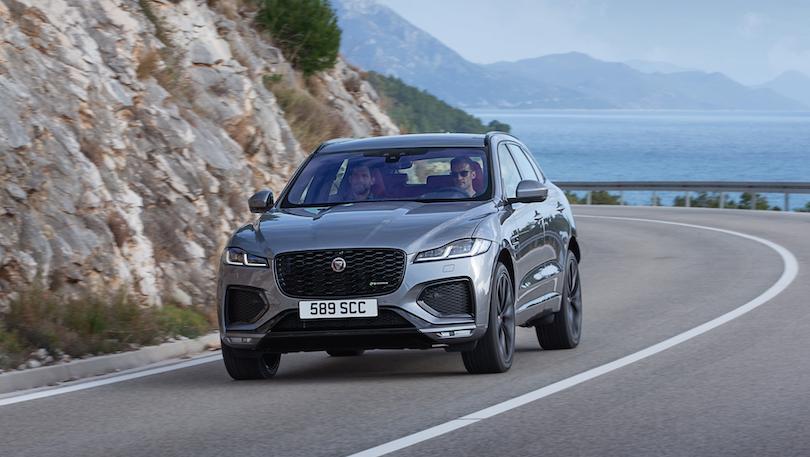 Consumi di Jaguar F-pace 2021