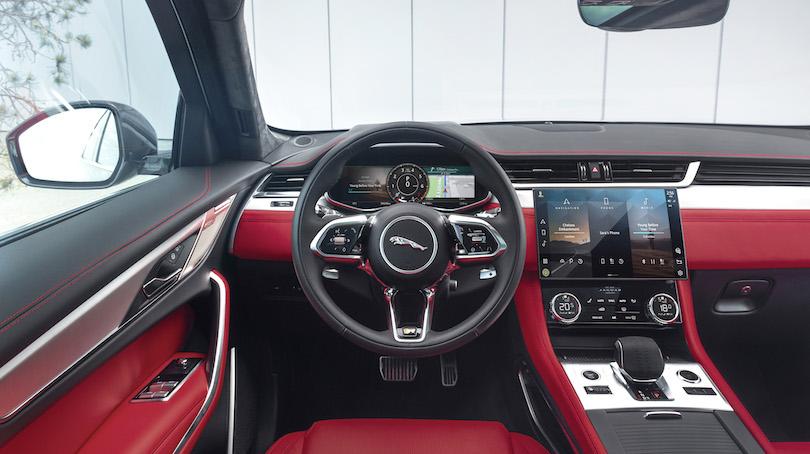 Infotainment Pivi Pro su Jaguar F-Pace 2021