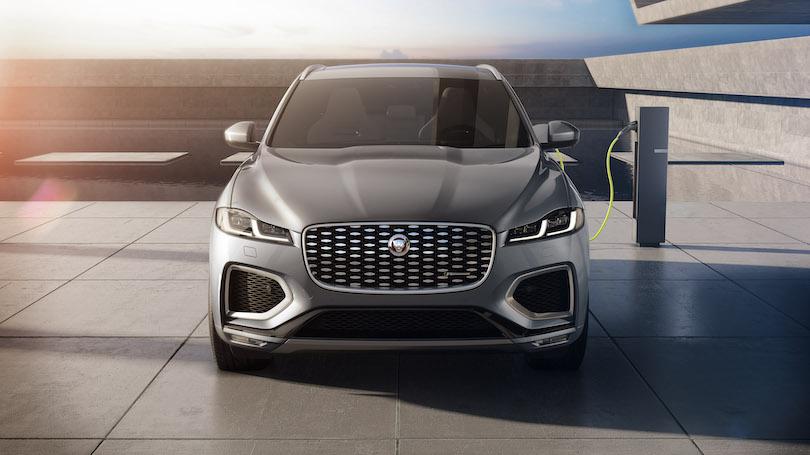 Jaguar F-Pace 2021 ibrida plug-in