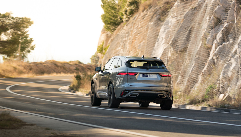 Uscita restyling Jaguar F-Pace 2021