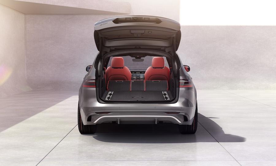 Bagagliaio di Jaguar XF Sportbrake