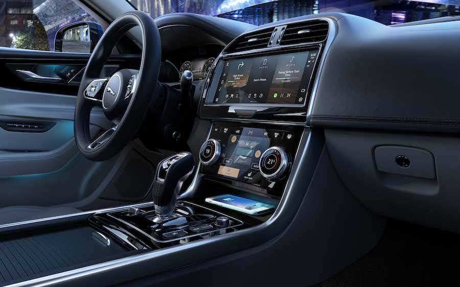 Jaguar XE restyling software ota