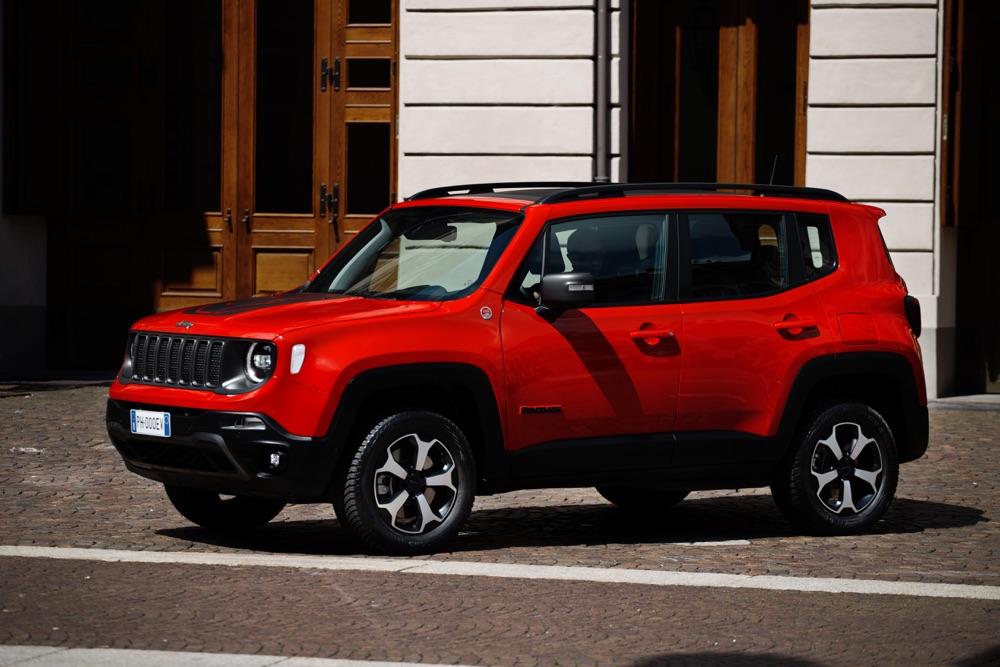 Autonomia elettrica di Jeep Renegade ibrida plug-in