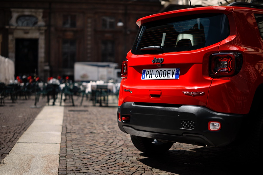 Consumi di Jeep Renegade ibrida plug-in