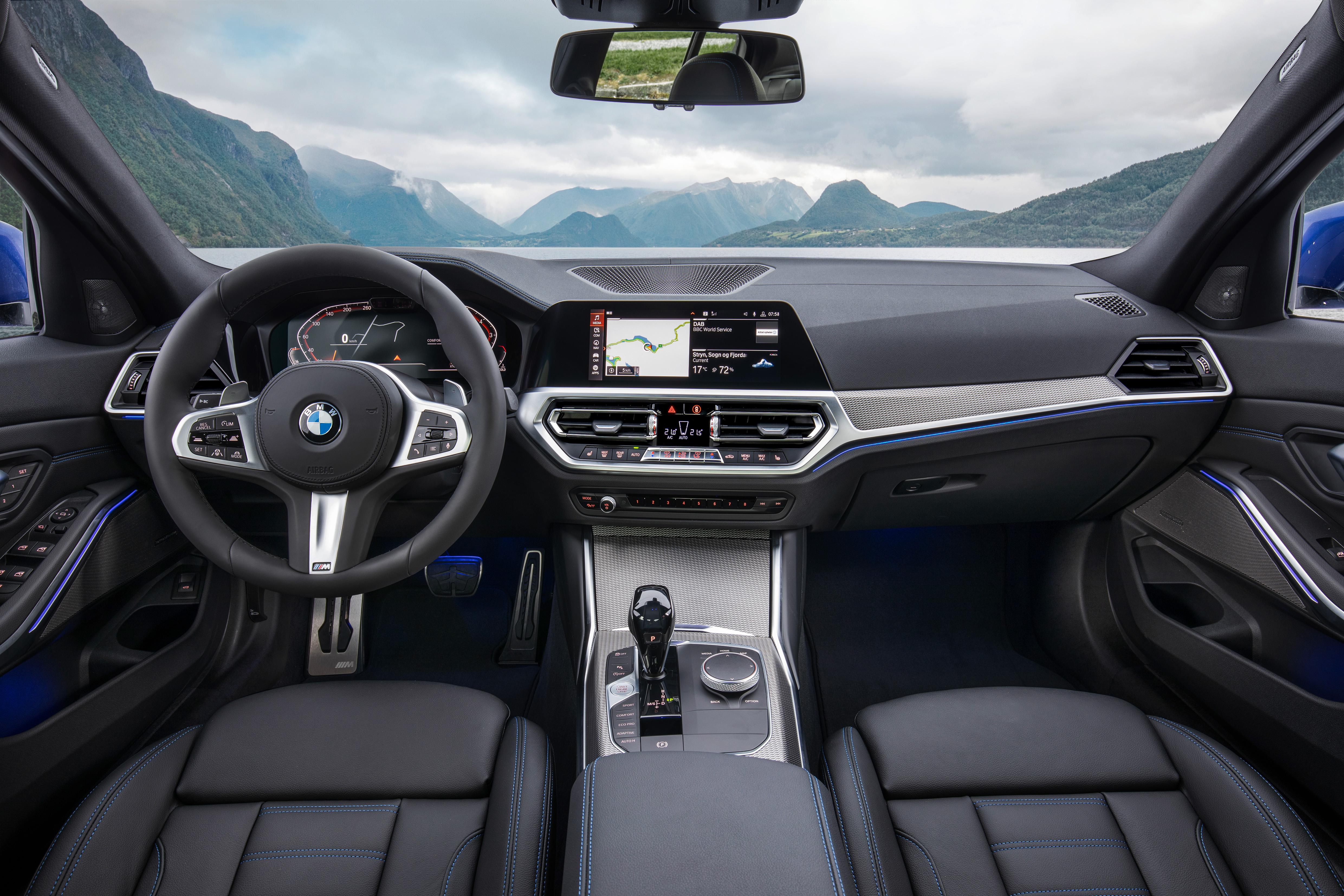 Interni nuova BMW Serie 3