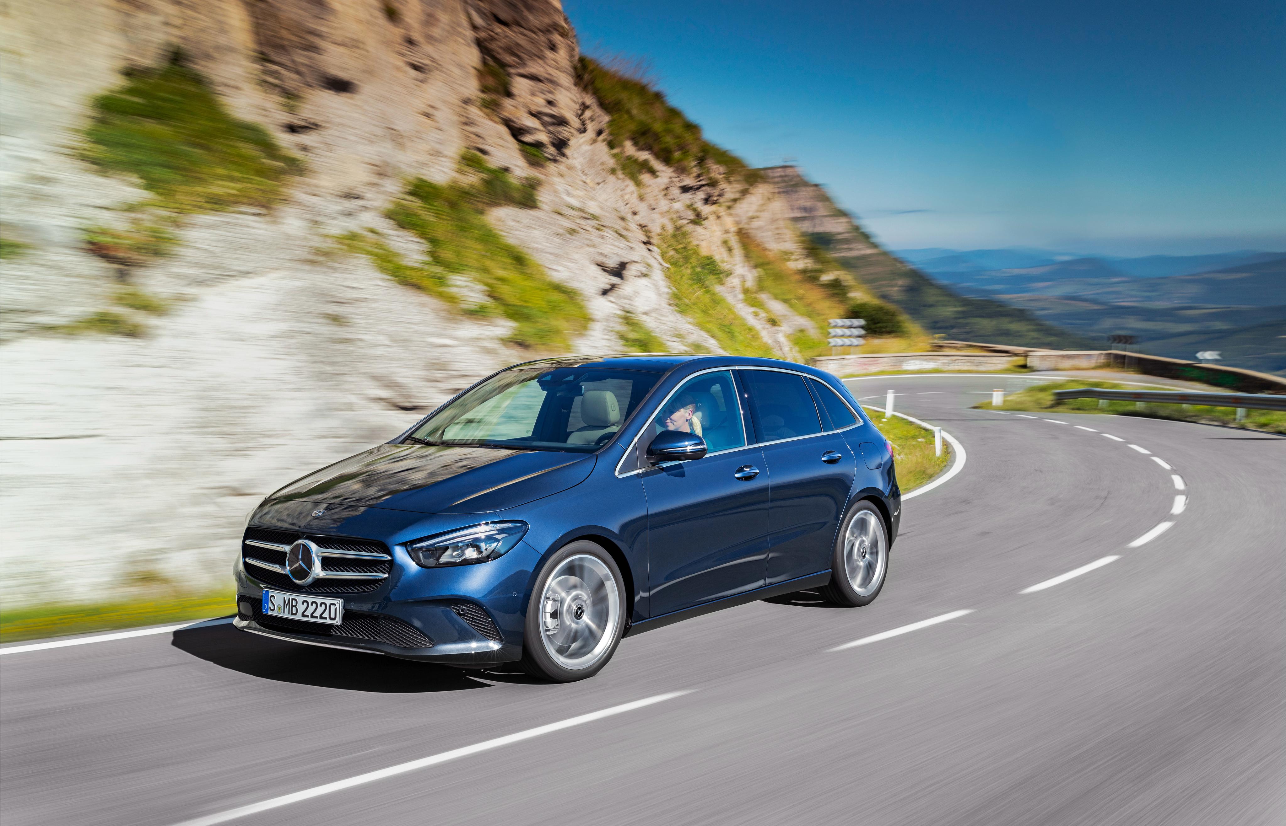 Tecnologia nuova Mercedes Classe B
