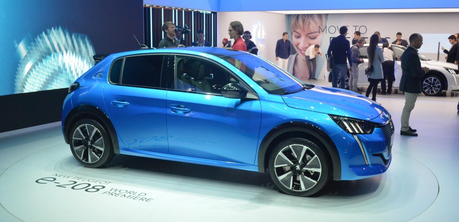 Nuova Peugeot 208 Salone di Ginevra