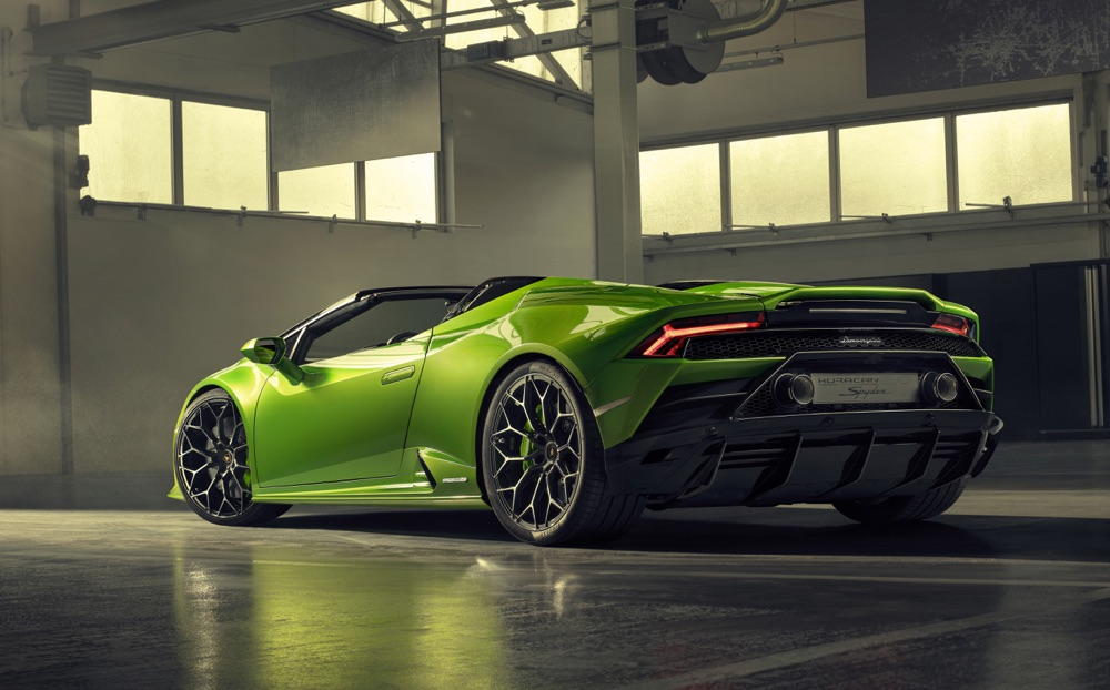 Lamborghini Huracan Evo Spyder, motore